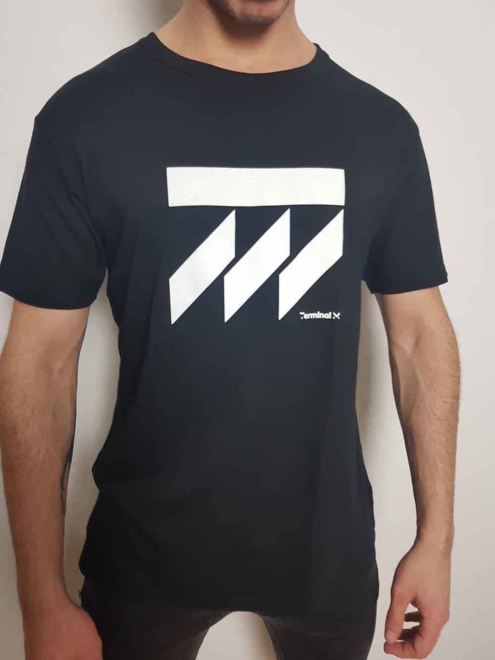 Image of Terminal M - Bamboo Black T.Shirt
