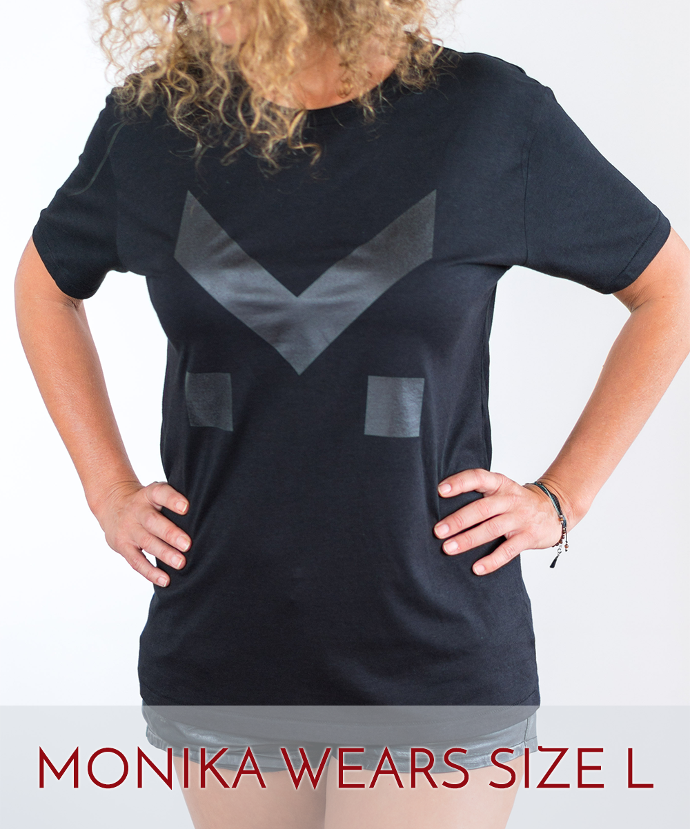 Image of M FOR MAD ABOUT -  T.SHIRT BLACK