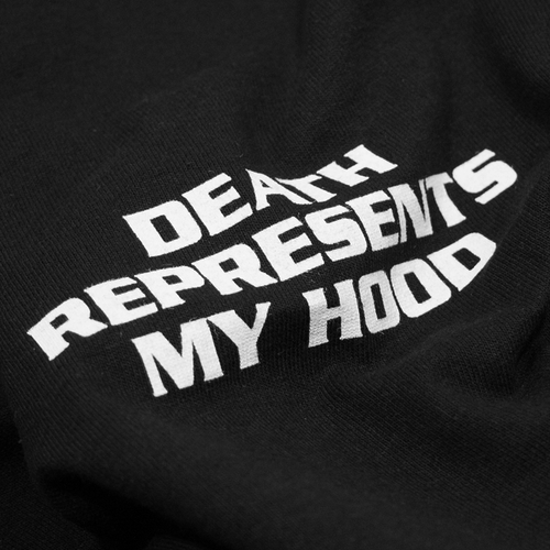 "Image of ""Death Represents My Hood"" T-Shirt"