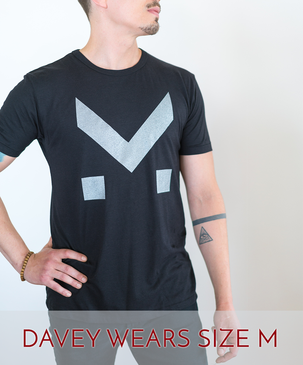 Image of M FOR MAGNETIC - T.SHIRT BAMBOO SILVER