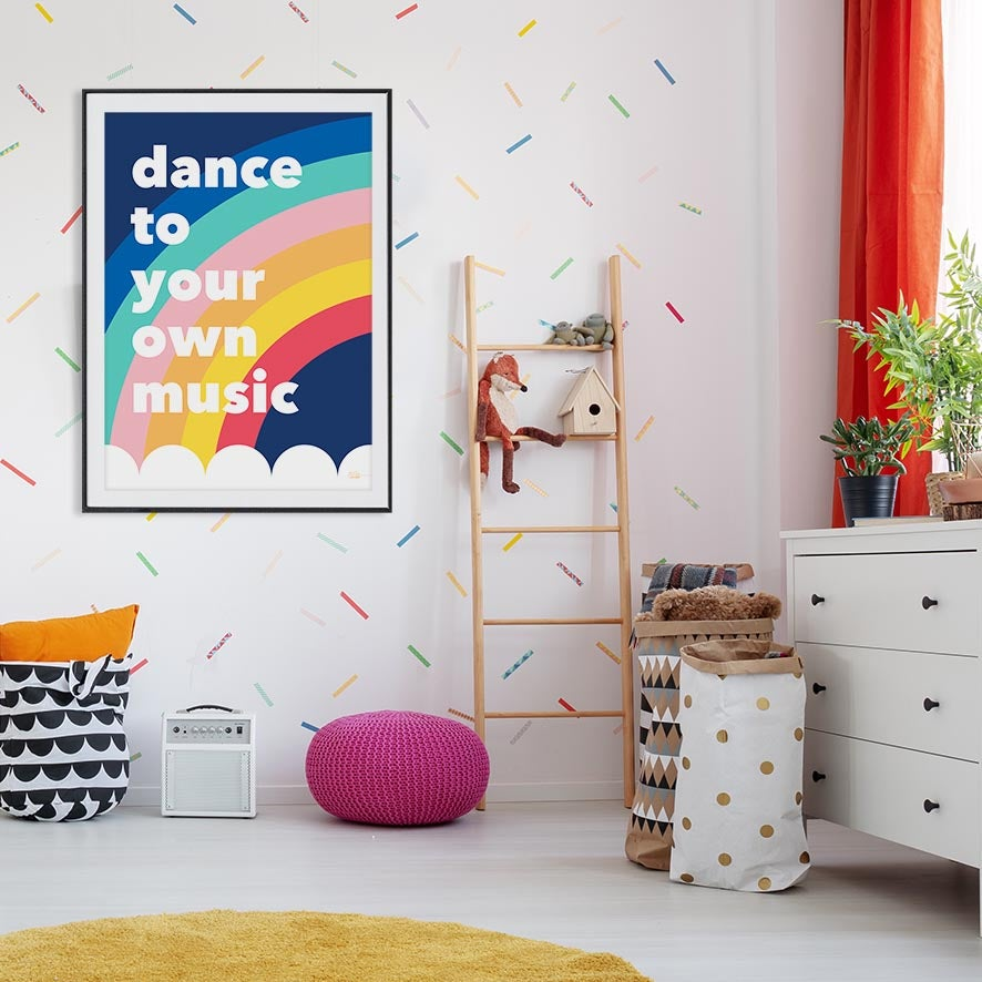 Image of Dance to your own music - Art Print