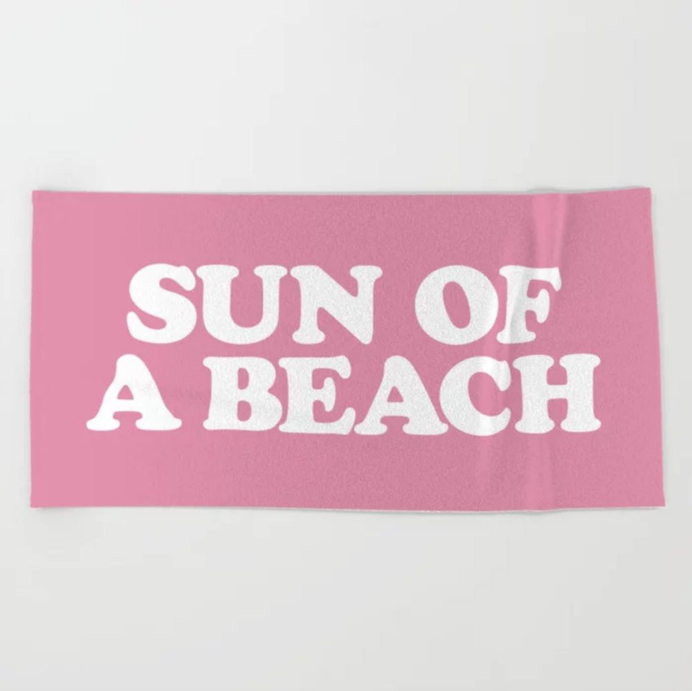 Image of Sun of a beach