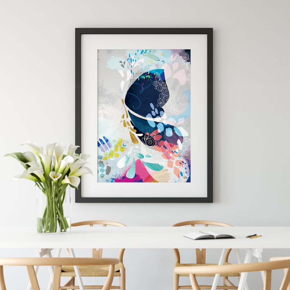 Image of Abstract Butterfly - Art Print