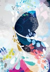 Abstract Butterfly - Art Print