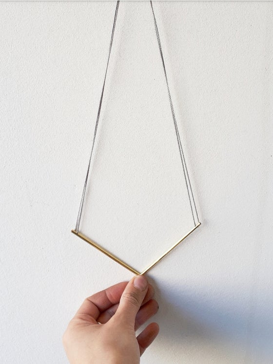 Image of Pointed Geometric necklace