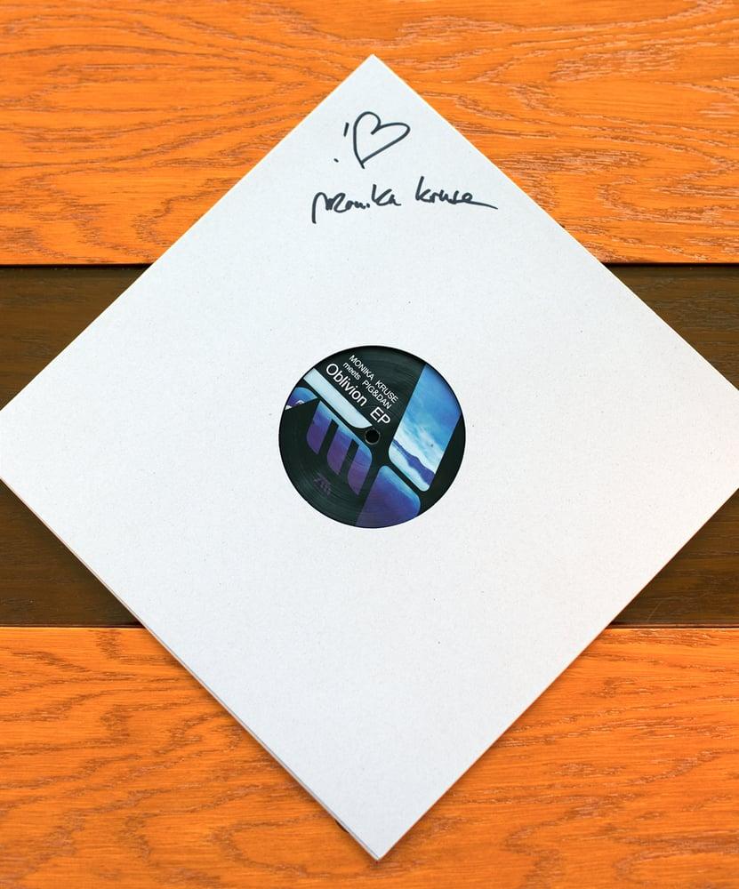 "Image of Monika Kruse meets Pig&Dan: Oblivion (autographed 12"" vinyl)"