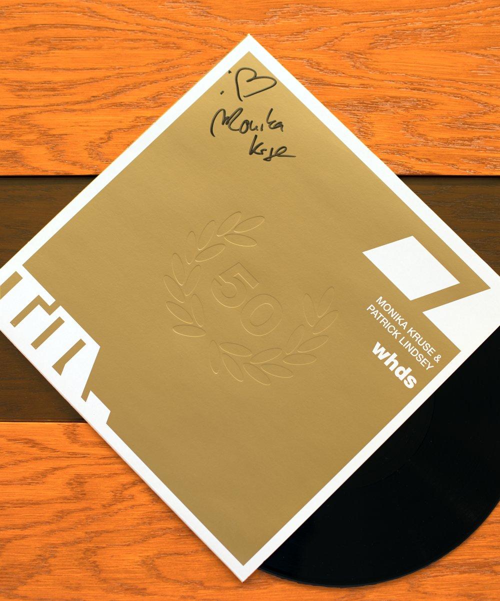 "Image of Monika Kruse & Patrick Lindsey: whds (autographed 12"" vinyl)"