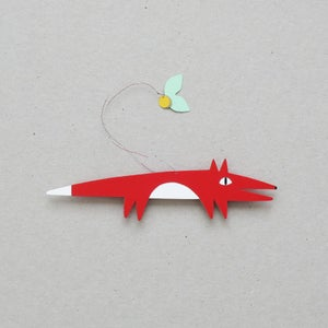 Image of Jack lucky fox, paper mobile