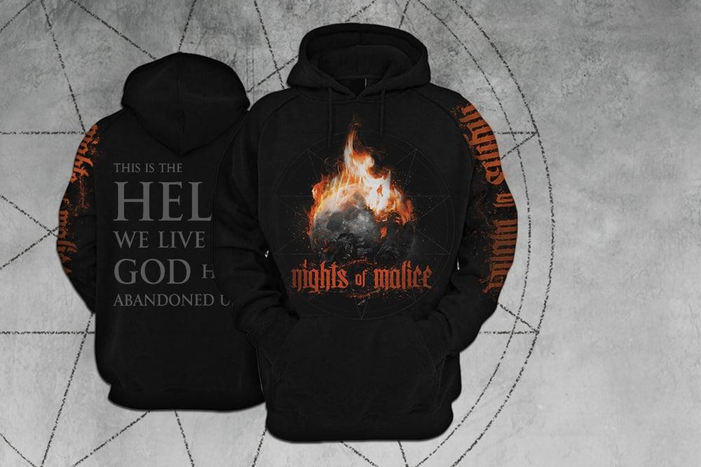 "Image of ""God has abandoned us"" Hoodie"