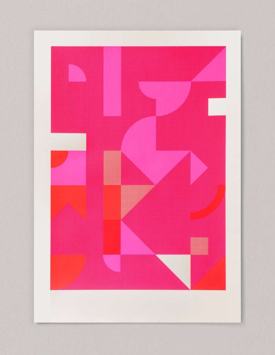 Image of Diptych in Pink 2