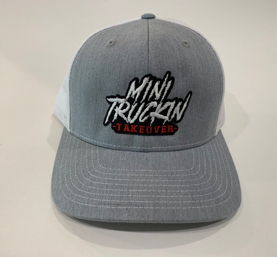 Image of Grey/White Trucker Hat