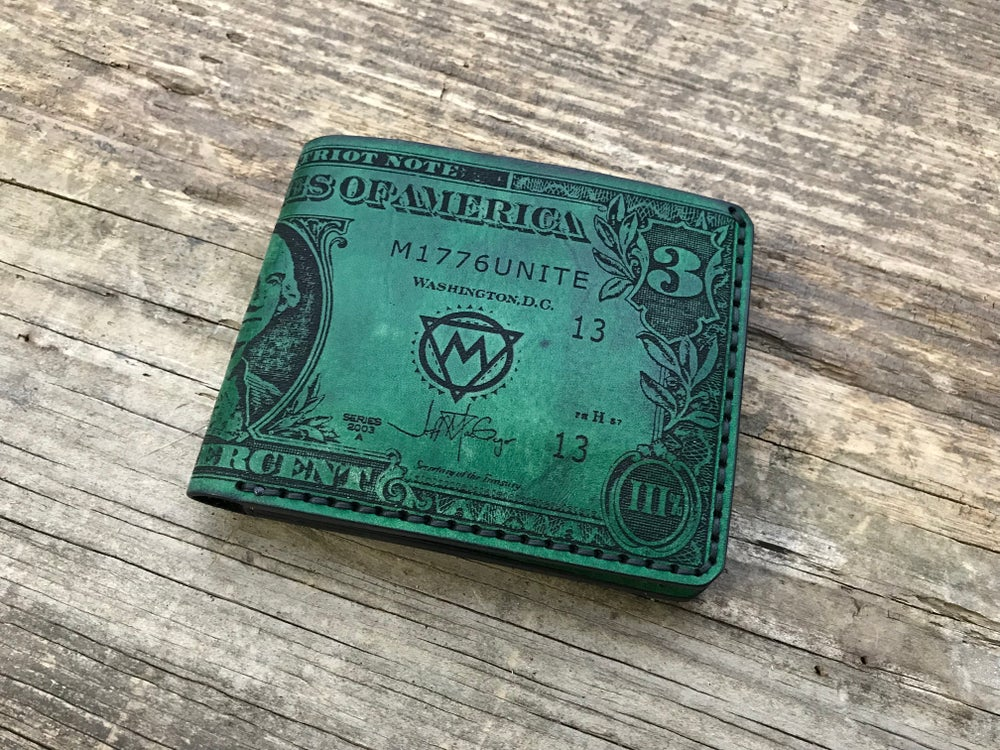 Image of 3 Dollar Billfold