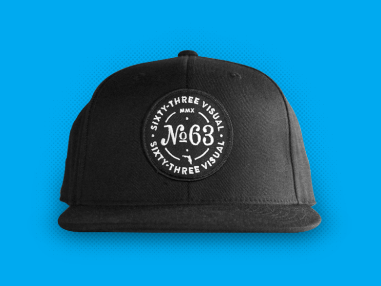 Image of Snap Back Hat - Black