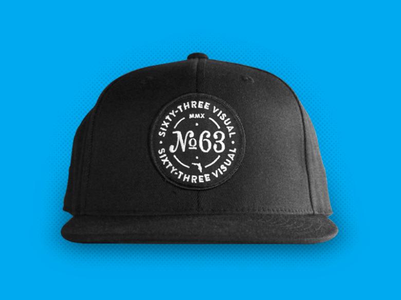 Image of Snap Back Hat - Black
