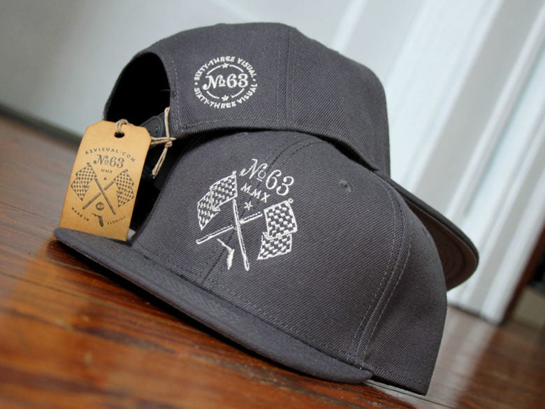 Image of Snap Back Hat - Gray