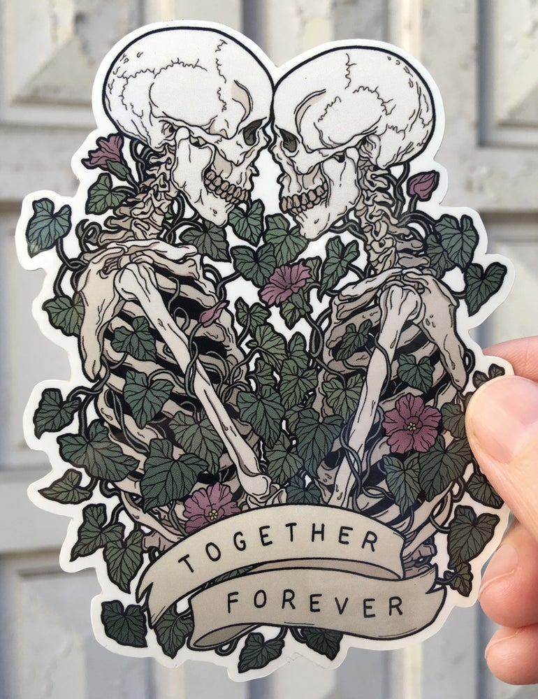 Image of Together forever vinyl sticker
