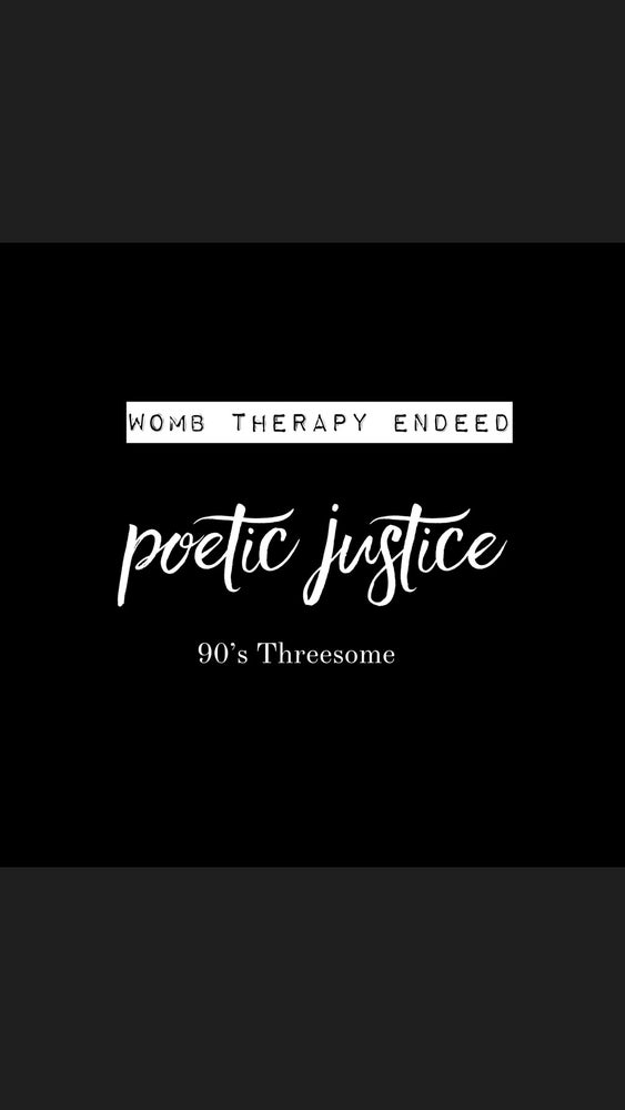 Image of Poetic Justice 🖤 Limited Edition