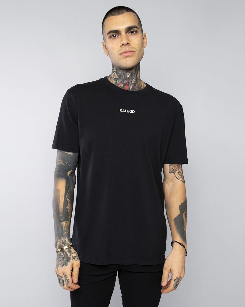 Image of KALIKID LOGO Black T-SHIRT