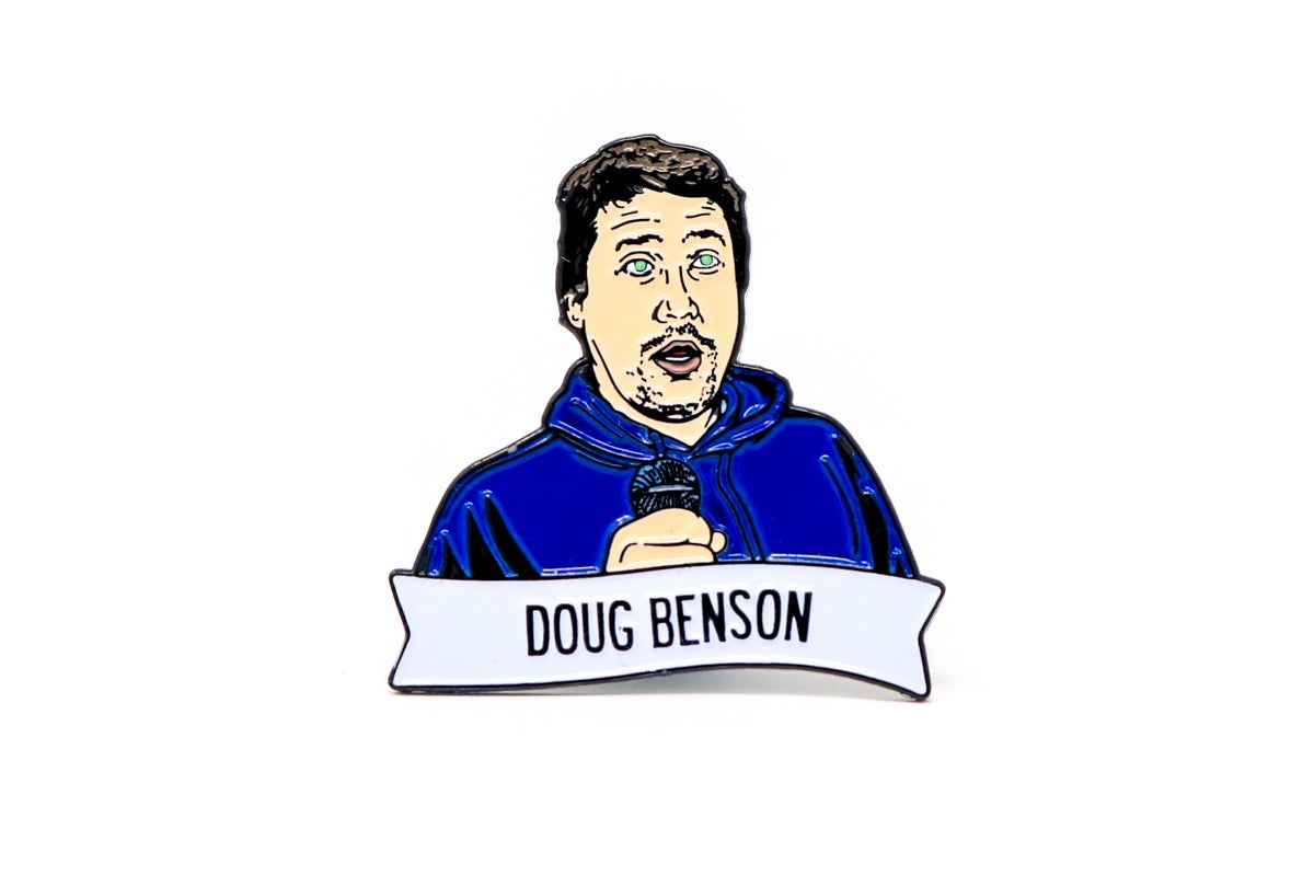 Image of Doug Benson Enamel Pin