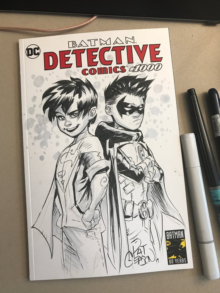 Image of Supersons Detective 1000 Sketch cover