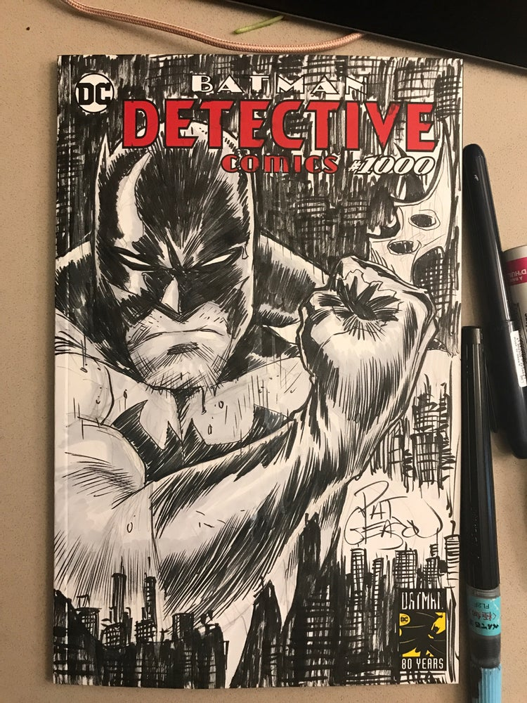 Image of Batman City Detective 1000 Sketch variant