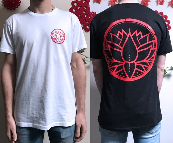 Image of Classic Lotus Tee - Black or White