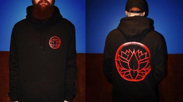 Image of Classic Lotus Hoodie - Black