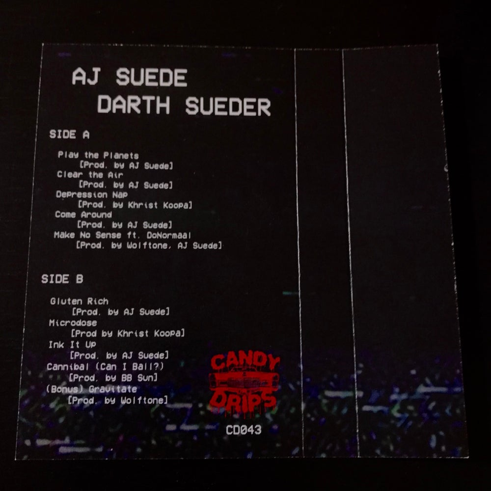 Image of AJ SUEDE - DARTH SUEDER - LIMITED EDITION CASSETTE