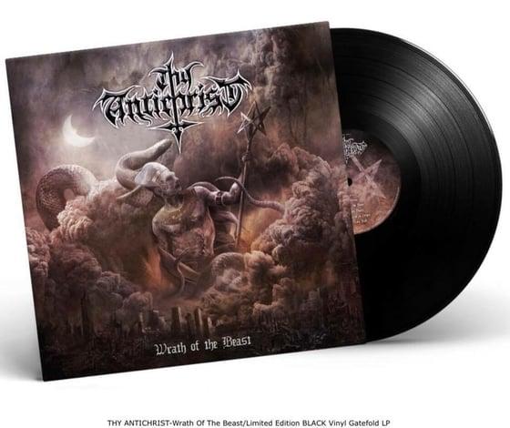 Image of THY ANTICHRIST - Wrath Of The Beast/Limited Edition BLACK Vinyl 180gr Gatefold LP