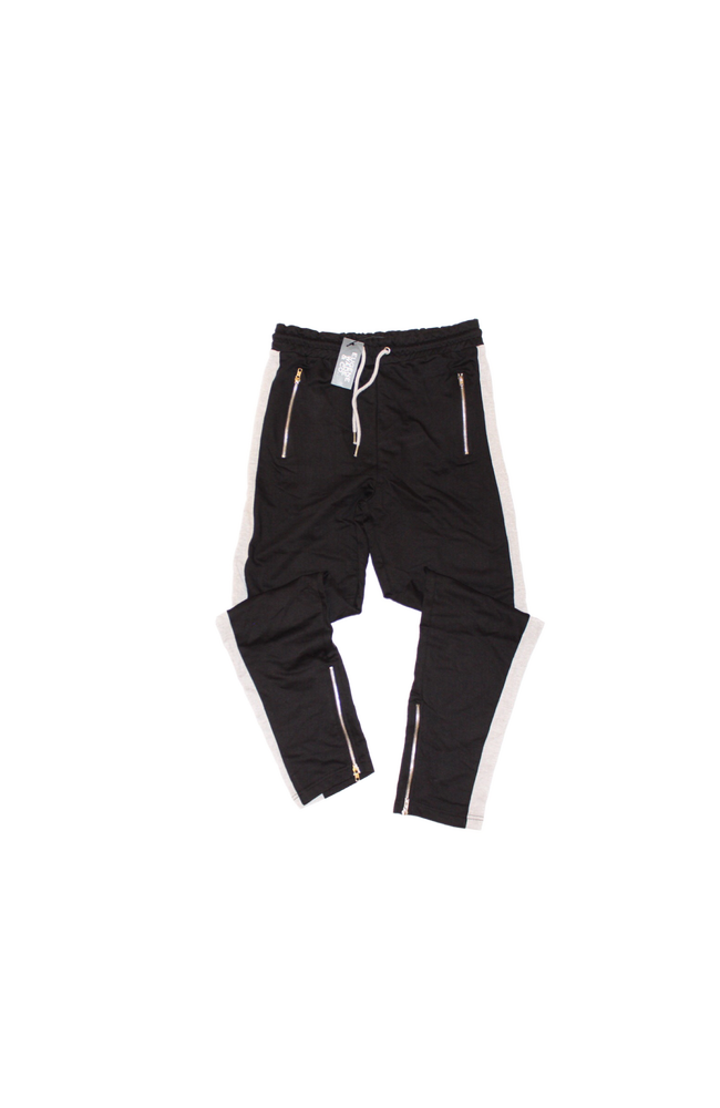 Image of STRIPE JOGGERS (Black/Grey)