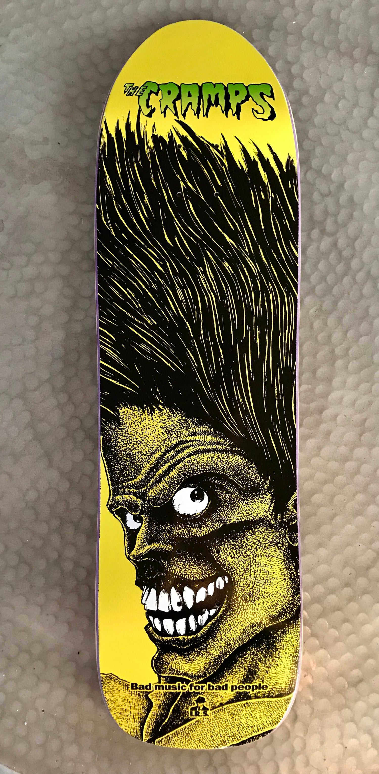 Image of The Cramps skateboard