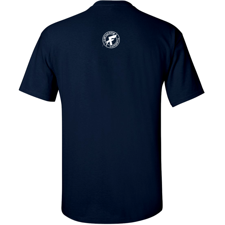 Image of Slay Mode Fishin' Tee (navy)