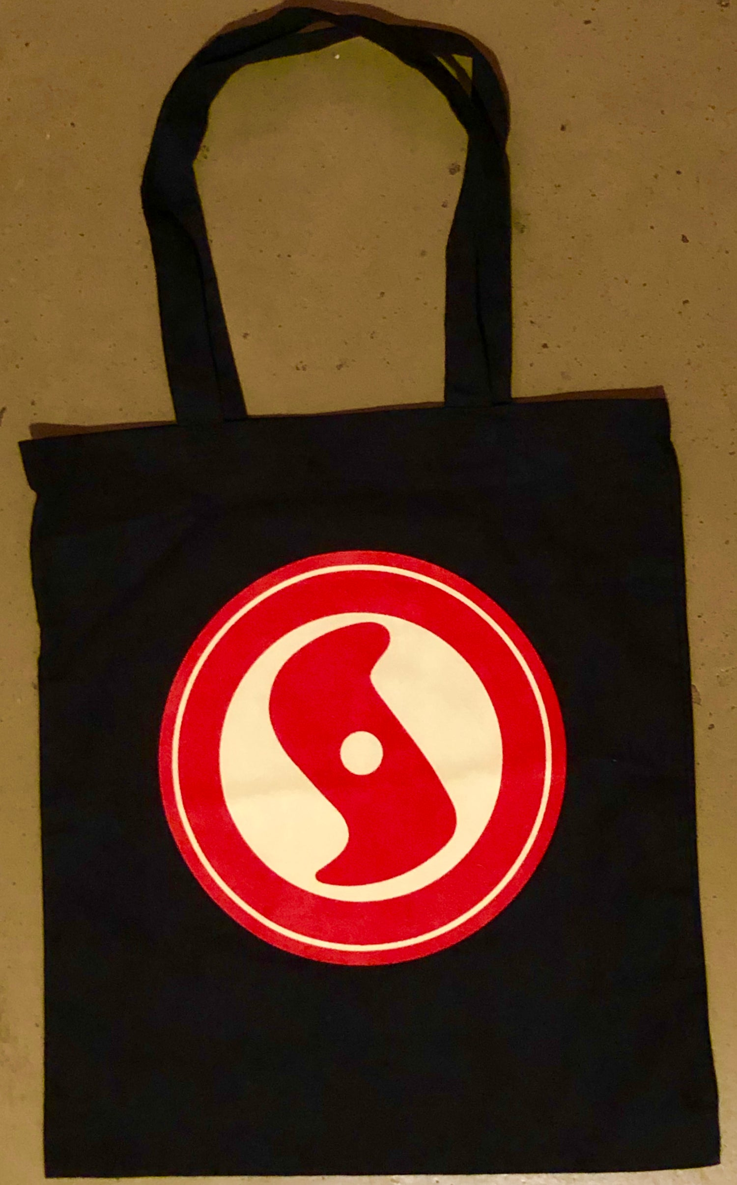 Image of New! Super Secret Records vinyl tote bag