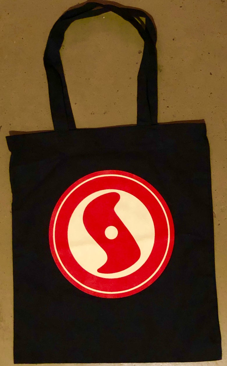 Image of New! Super Secret Records vinyl tote bag