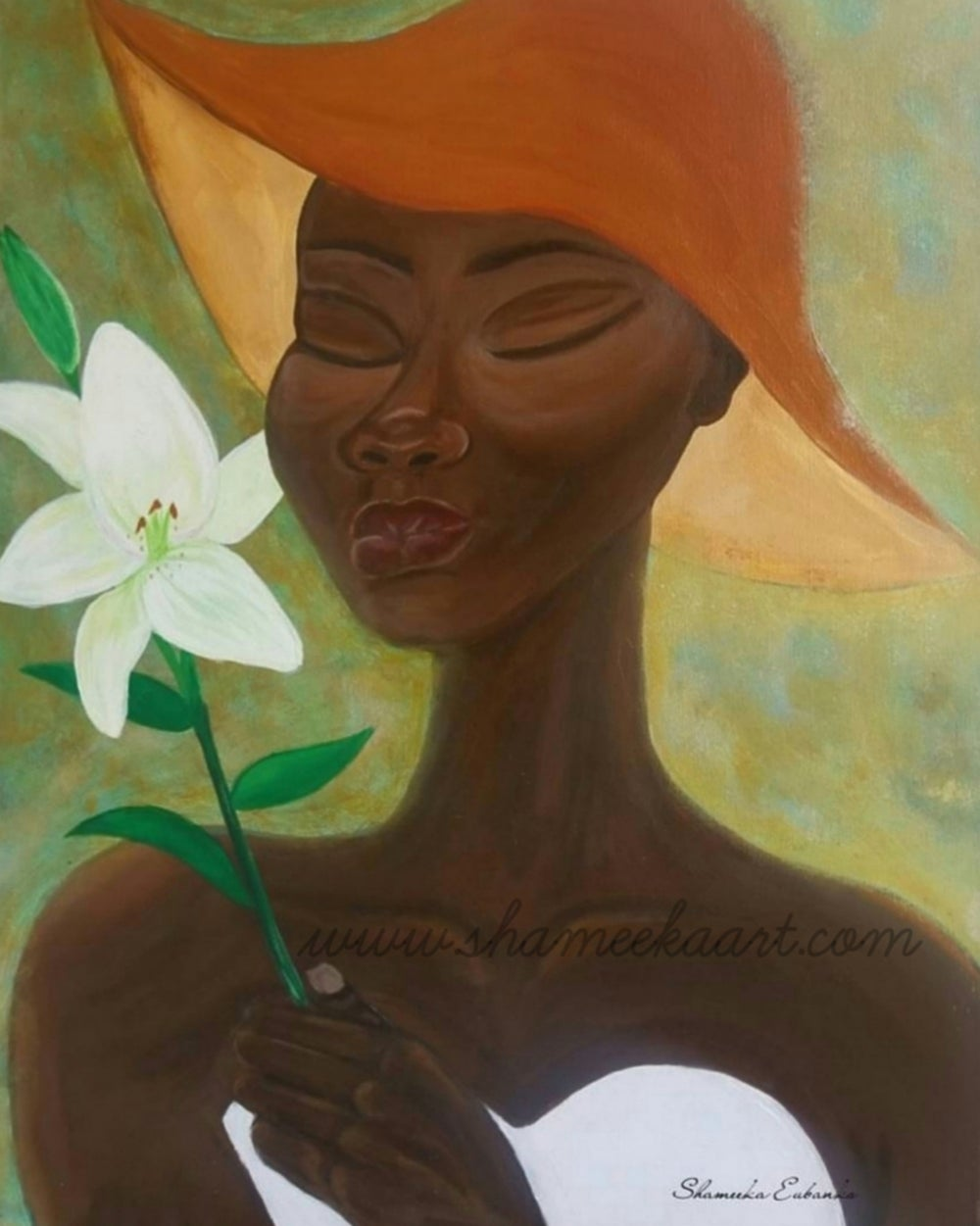 Image of Lily 16x20 canvas print