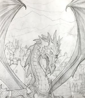 Image of Dewi, The Friendly Welsh Dragon