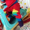 Rainbow Knee Patch Joggers - All Colours