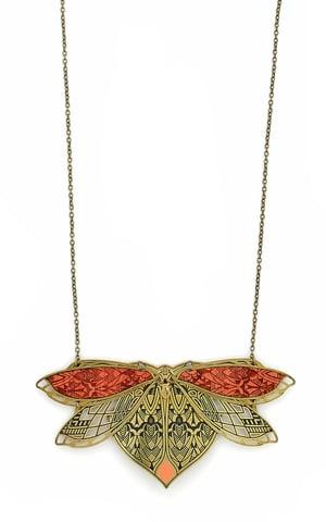 Image of CHRYSALIDE collier mi-long