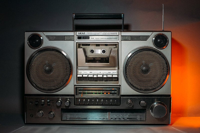 Image of AKAI AJ500FS BLUETOOTH BOOMBOX (1980)