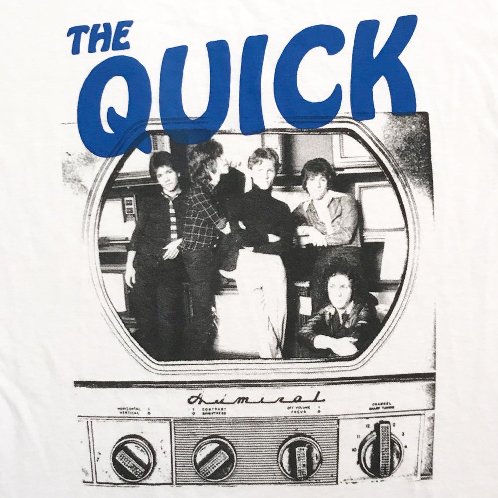 "Image of The Quick ""TV"" Ringer Tee"