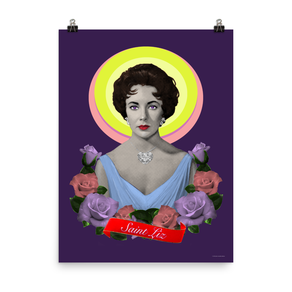 Image of Saint Liz Print