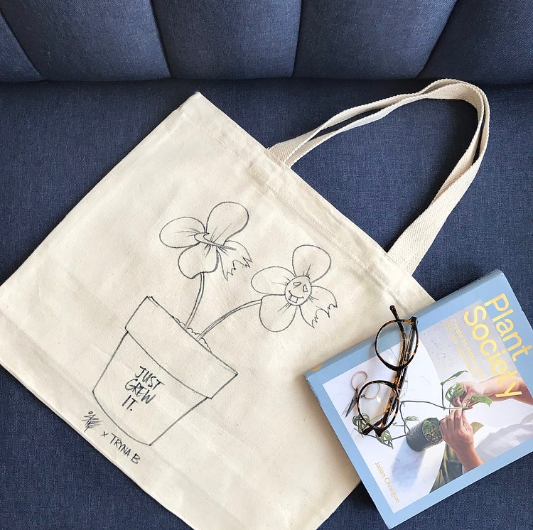 Image of Just grew it tote
