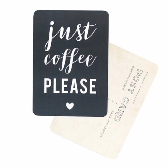 Image of Carte postale Cinq Mai - just coffee please