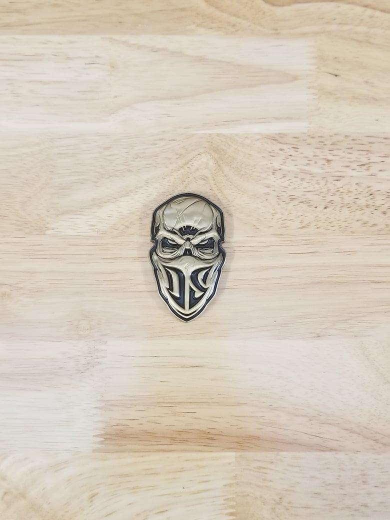 Image of 3D Metal Skinz Logo/Gold