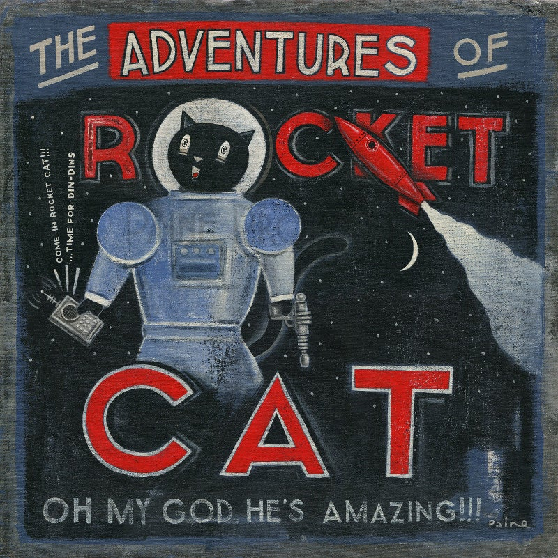 Image of The Adventures Of Rocket Cat