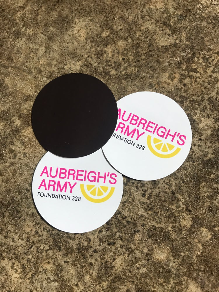 Image of Aubreigh's Army Foundation 328 car magnets