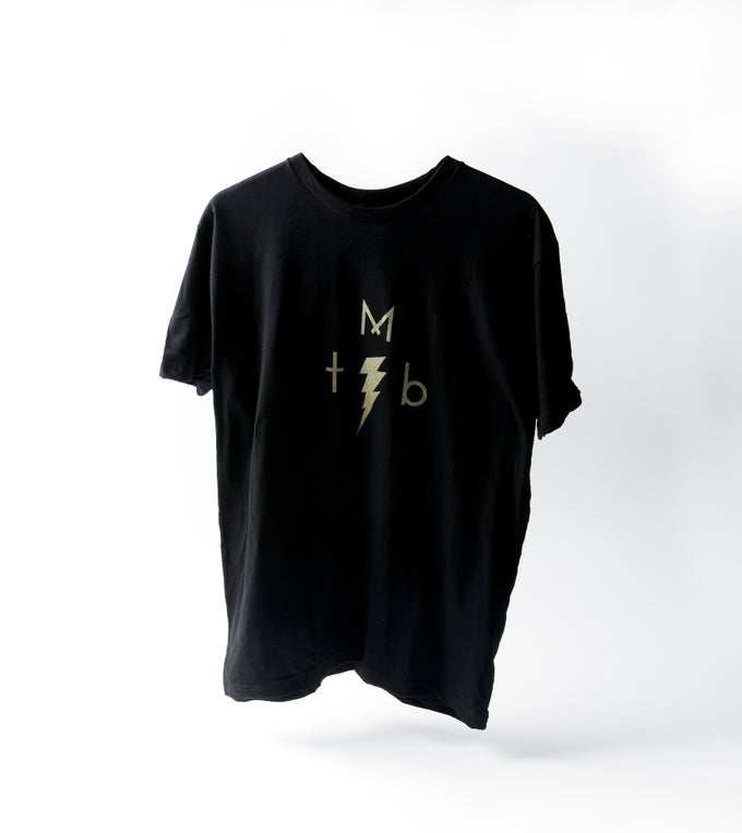 Image of TMB x TCB Lightning Bolt T-Shirt (Unisex)
