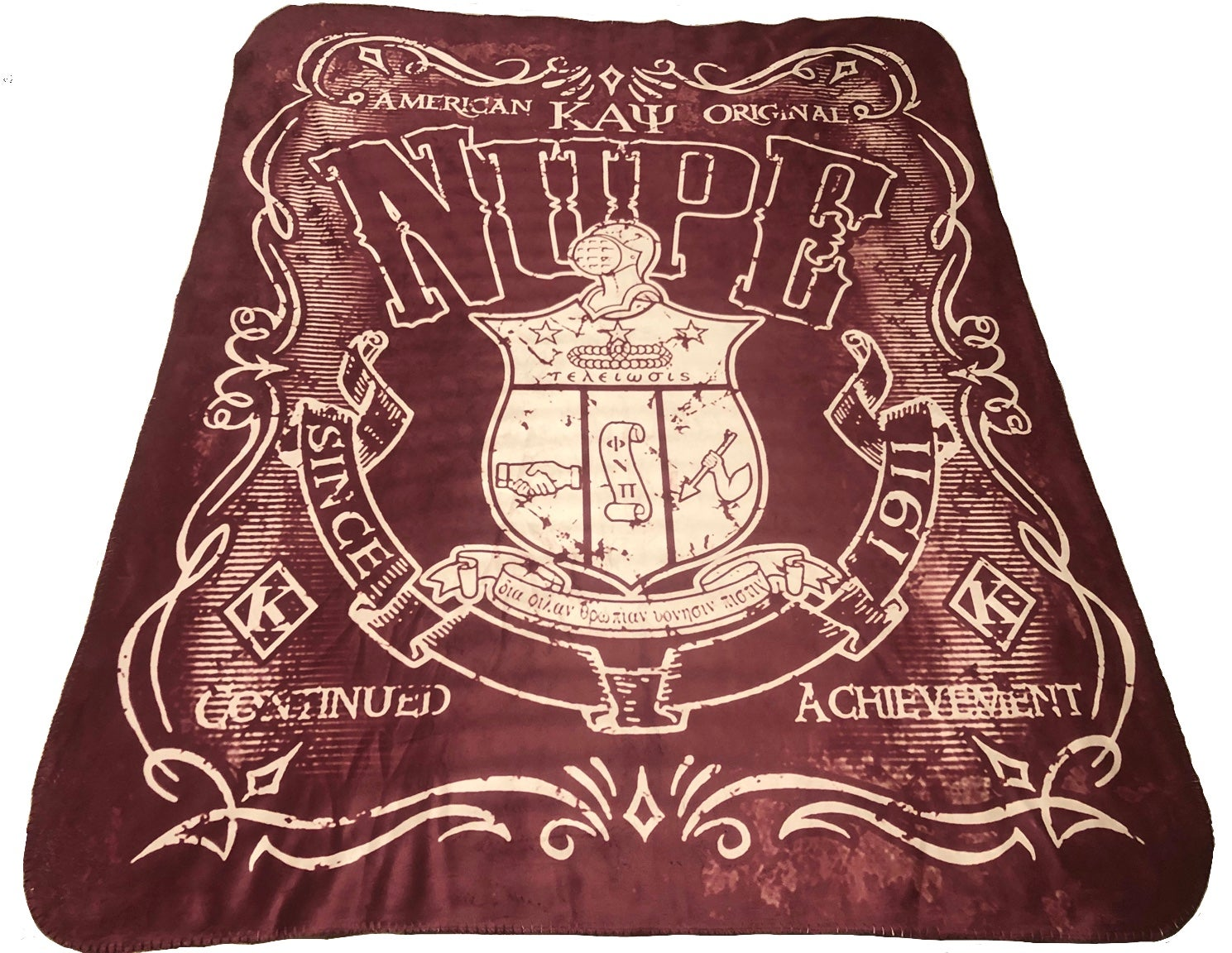 Image of Original Nupe Sherpa Blanket