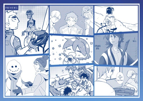 Image of KINGS // Hakone Gakuen Comic Anthology (Japanese Only/日本語/Set/Tote Set)