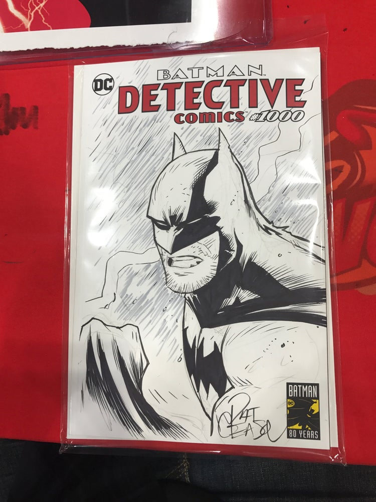 Image of Batman Detective 1000 Sketch cover